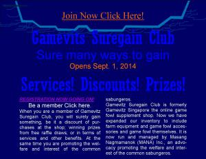 Sure many ways to gain. Be a member. Join Now! Click .... http://rbsugbo.wix.com/gamevitz-club#!register-as-member/c1ek4
